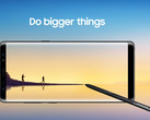 Samsung Galaxy Note 8 Android flagship 94 DxOMark score (Source: Samsung)