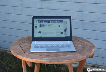 HP Spectre 13 in the shade