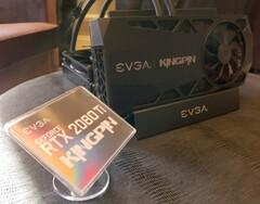 EVGA GeForce RTX 2080 Ti KINGPIN Hybrid graphics card (Source: Wccftech)