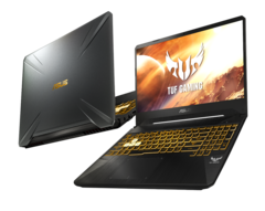 The Asus TUF Gaming FX505 and FX705 now coming with GTX 16-series graphics. (Source: Asus)