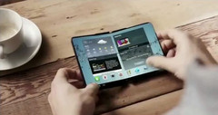 The foldable smartphone market is about to get crowded very quickly as Apple, LG Electronics and Microsoft are all looking into similar technology. (Source: NDTV)