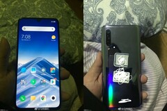 Some of the new leaked images associated with the Mi 9. (Source: GizmoChina)