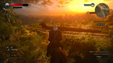 There are no problems playing The Witcher 3...