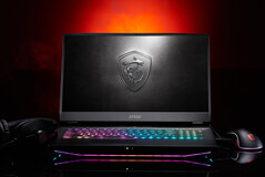 Mystic Light RGB lighting on the keyboard and chassis underglow. (Image Source: MSI)