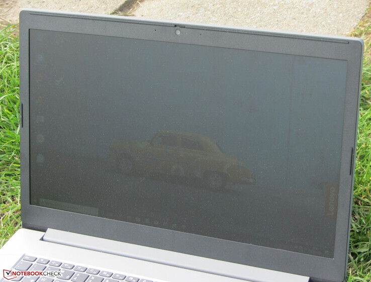 The Ideapad outdoors