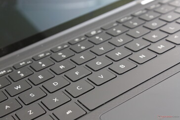 If you've been typing on an XPS 13 or some other Ultrabook for years, then you're going to need some time to get used to the unique super-thin MagLev keys of the XPS 13 7390 2-in-1