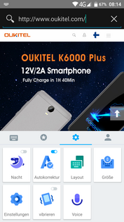Oukitel K6000 Plus keyboard settings (and more)