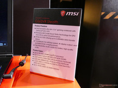 MSI GS63VR Stealth