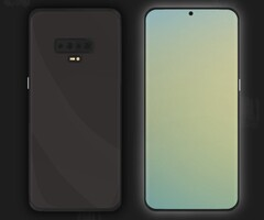 Samsung Galaxy S11 unofficial concept render (Source: Juno on Twitter)