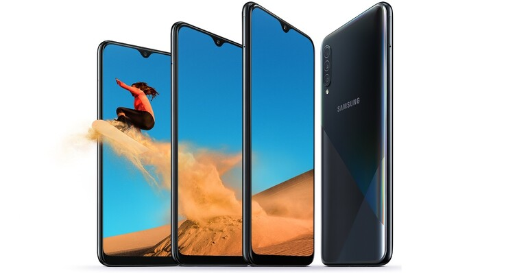 Samsung Galaxy A30s Smartphone Review A Breath Of Fresh Air With A Playful Design Notebookcheck Net Reviews