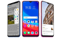 The OPPO F9 was OPPO's first device with a teardrop notch, and the OnePlus 6T will likely follow suit. (Source: MySmartPrice)