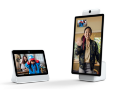 The Facebook Portal is available in 10.1-inch and 15.6-inch sizes. (Source: Facebook)