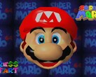 Super Mario 64 is now playable on Android via a native app. (Image via Nintendo)