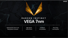 The 7nm Vega finds applications in High Performance Computing. (Source: AMD)