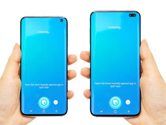 Samsung Galaxy S10 and Galaxy S10+ (Source: UniverseIce on Twitter)