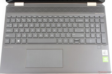 Same keyboard layout and function keys as the 2018 model