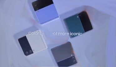 Samsung Galaxy Z Flip 3 colors. (Image source: AndroidNext)