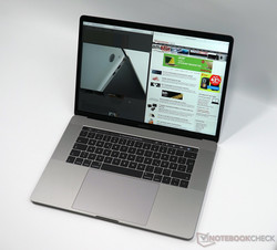 The MacBook Pro 15 has one of the best displays among multimedia laptops.