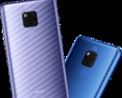 The two color SKUs of the Huawei Mate 20 X. (Source: Huawei)