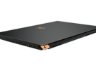The golden trim and accents, as well as the sandblast metallic black finish turn the 2019 Stealth series into one of the most esthetically pleasing slim gaming laptops out there. (Source MSI)