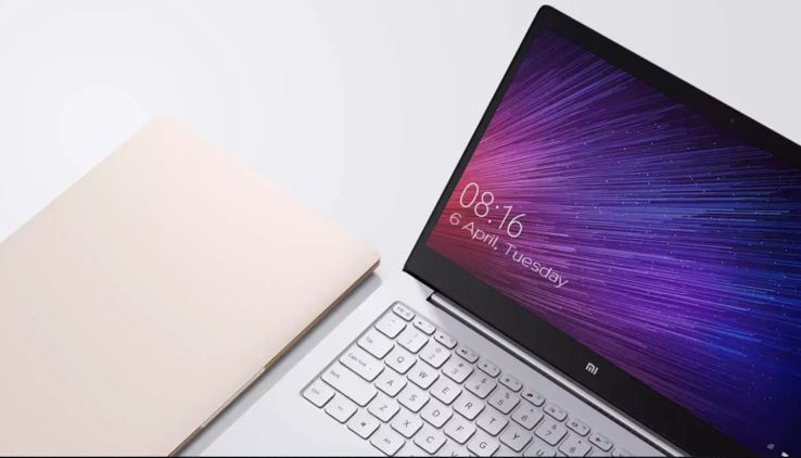 The current Mi Notebook Air weighs 1.07 kg. (Source: Xiaomi)