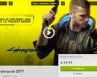 Cyberpunk 2077 in GOG Galaxy, partial achievements list leaks online (Source: Own)