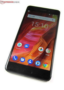 In the test: Nokia 6. Test unit provided by cyberport.