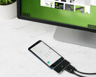 Tiny IOGEAR GUD3C460 USB-C docking station turns your Android smartphone into a desktop (Source: IOGEAR)