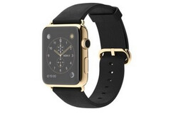 Apple released gold-clad smartwatches in 2015. (Image source: Apple/MacRumors)