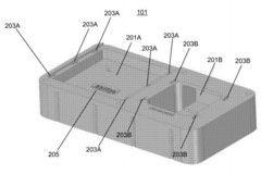 Facebook's modular device could incorporate phone, GPS, touchscreen and several other components. (USPTO.gov)