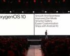 OOS 10 is presented on-stage. (Source: YouTube)
