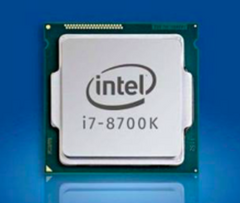 The i7-8700K is expected to be released in October for around US$450. (Source: Intel)