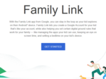 Family Link offers parents a new way to manage Android devices. (Source: Google)