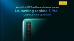 The Realme 5 Pro is an increasingly interesting prospect for late 2019. (Source: Flipkart)