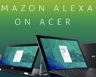 Acer is offering a free Echo Dot with its Alexa-equipped notebooks. (Source: Amazon)