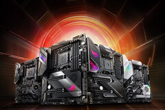 AMD X570 motherboards have been quite a rage at Computex 2019. (Source: Asus)