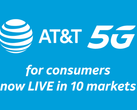 AT&T has launched its 5G service. (Source: AT&T)