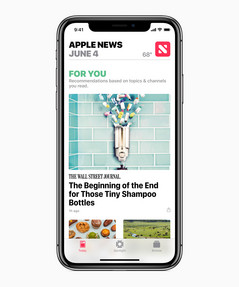 Apple News gets a facelift.