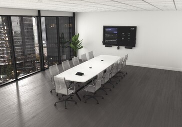 Dell's Meeting Space Solutions in different settings. (Source: Dell)