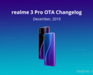 The Realme 3 Pro's new security patch update. (Source: Realme)