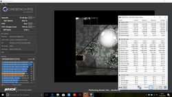 The IdeaPad 720 performed consistently in Cinebench R15.
