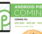 Android Q may be imminent, but HTC is just getting around to upgrading its flagship smartphones to Pie. (Image source: HTC)