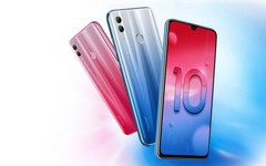 Honor 10 Lite Android phablet with HiSilicon Kirin 710 processor