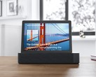 The Lenovo Smart Tab M10 with Smart Dock can answer your questions thanks to Amazon Alexa. (Source: Lenovo)