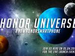 Honor smartphone launch event coming April 5th