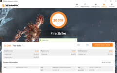 'Gonzalo' simulation 3DMark FireStrike Score. (Source: DemonCleaner on Neogaf)