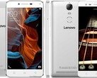 The new Lenovo device could be a successor to the Lemon 3 or the K5 Note. (Image source: Lenovo/GSMArena - edited)