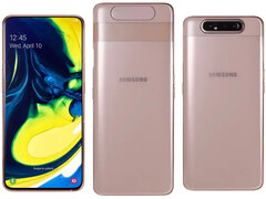 The Samsung Galaxy A80. (Source: NDTV)