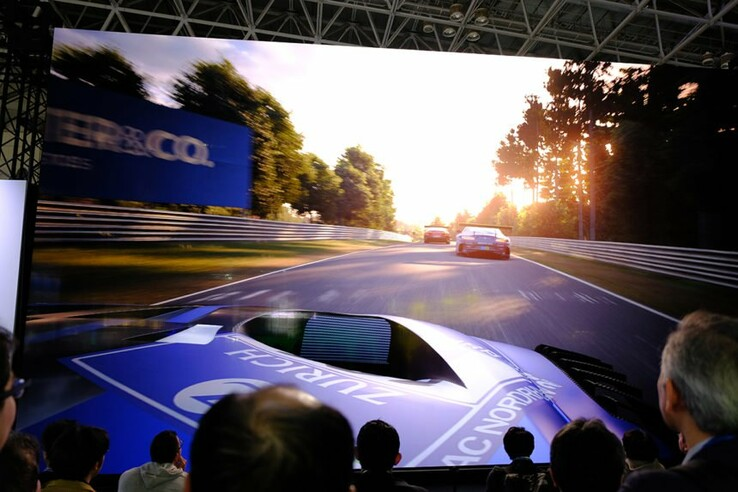Sony reportedly showcased Gran Turismo 7 in 8K. (Image source: @ShirrakoGaming)