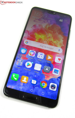 In review: Huawei P20. Test model courtesy of Huawei Germany.
